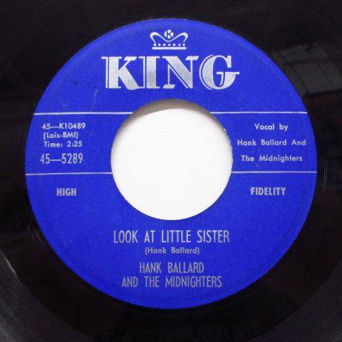 HANK BALLARD & THE MIDNIGHTERS - Look At Little Sister