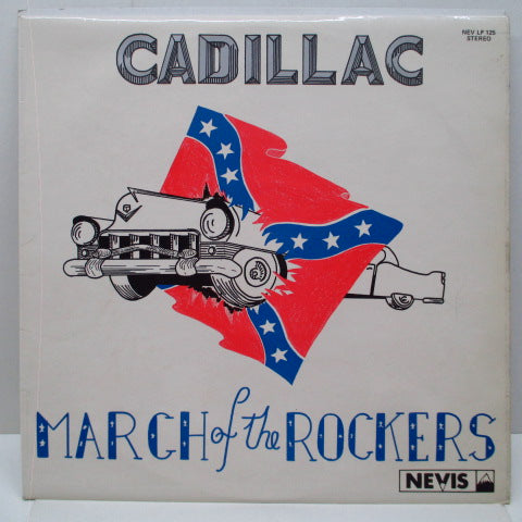 CADILLAC - March Of The Rockers (UK Orig.LP)