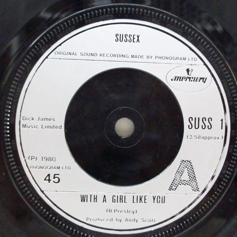 "SUSSEX (サセックス)  - With A Girl Like You (UK Orig.7"")"