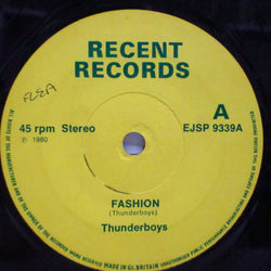 "THUNDERBOYS (サンダーボーイズ)  - Fashion / Someone Like You (UK Orig.7""/NOPS)"