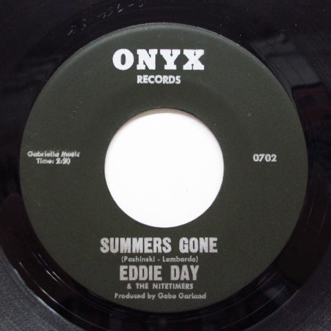 EDDIE DAY & THE NITETIMERS - For My Girl / Summers Gone (Orig)