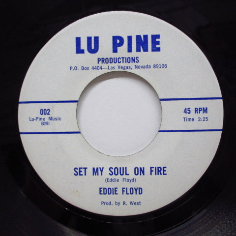 EDDIE FLOYD - Set My Soul On Fire / Will I Be The One