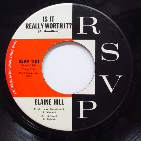 ELAINE HILL - You're Gonna Get It (Orig)