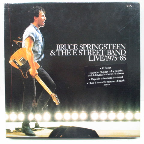 BRUCE SPRINGSTEEN & The E Street Band (ブルース・スプリングスティーン)  - Live/1975-85 (UK Orig.5xLP/Box Set)