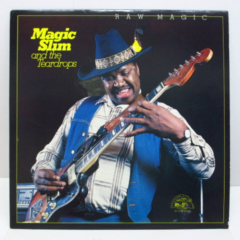MAGIC SLIM AND THE TEARDROPS - Raw Magic (CANADA-US Orig.)