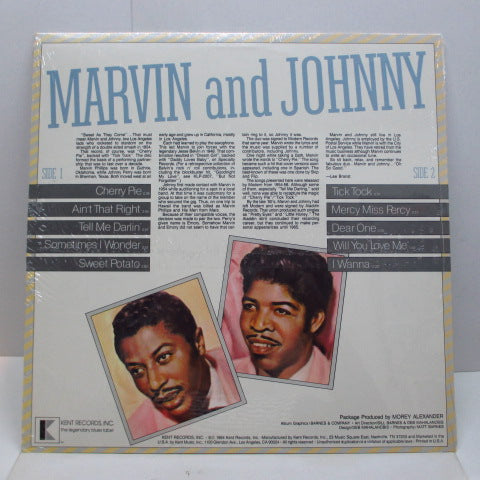 MARVIN & JOHNNY - The Birth Of Rock N' Roll (US Orig.Seald)