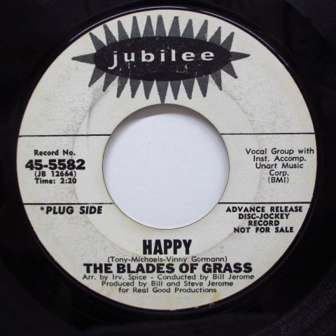 BLADES OF GRASS - That's What A Boy Likes (Promo)