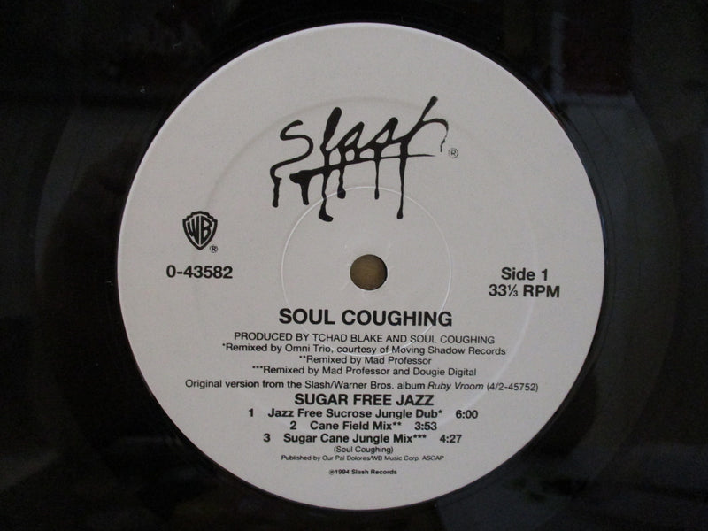 "SOUL COUGHING (ソウル・コフィング)  - Sugar Free Jazz (US Orig.12"")"