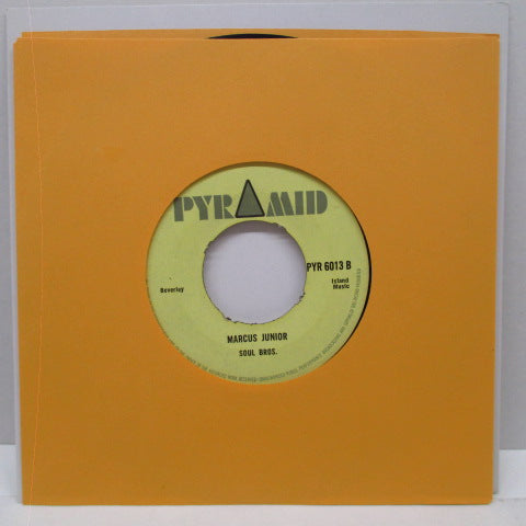 "SOUL BROS. / DERRICK MORGAN - Marcus Junior / Greedy Gal (UK Orig.7"")"