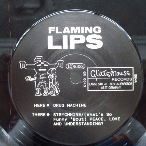 "FLAMING LIPS - Drug Machine (German Orig.7"")"