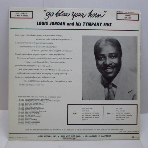 LOUIS JORDAN - Go Blow Your Horn (France '82 Re LP)