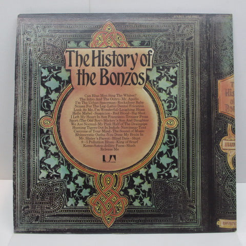 BONZO DOG BAND - The History Of The Bonzos (UK:Orig.2xLP)