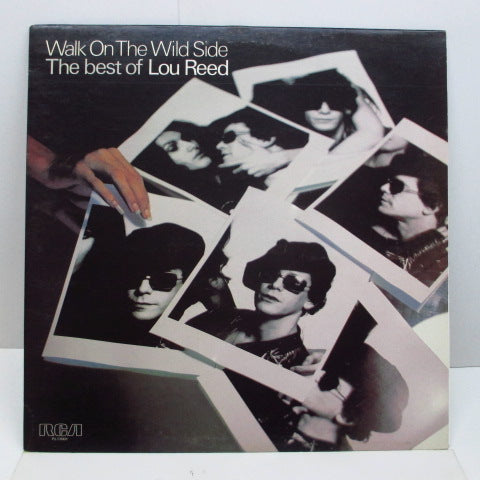 LOU REED - Walk On The Wild Side / The Best Of Lou Reed (UK 70's Reissue)