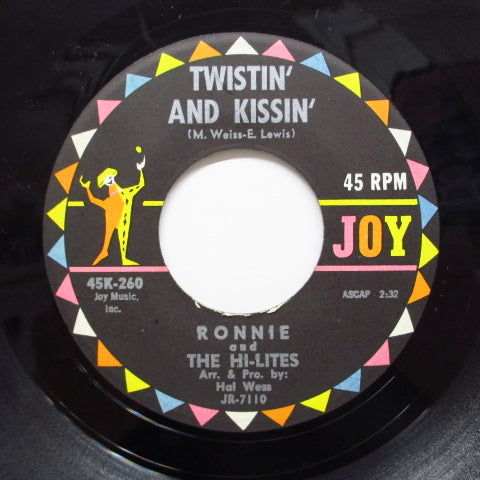 RONNIE & THE HI-LITES - Twistin' And Kissin' (Orig)