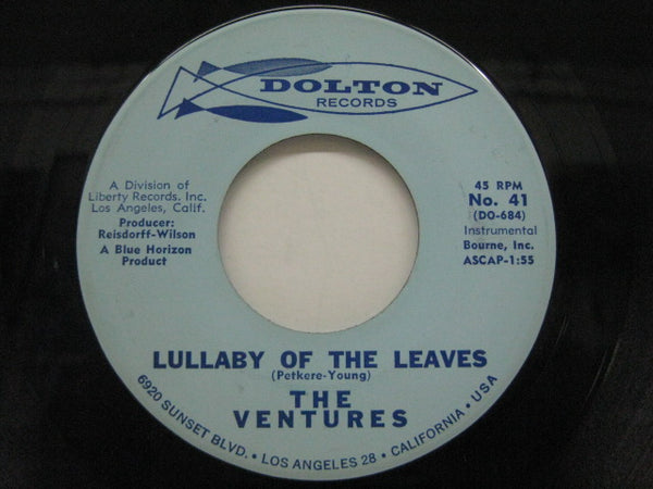 VENTURES - Lullaby Of The Leaves / Ginchy