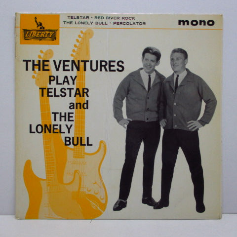 VENTURES - Play Telstar & The Lonely Bull (UK Orig.EP)
