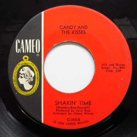 CANDY & THE KISSES - Shakin' Time / Soldier Baby (Orig.)