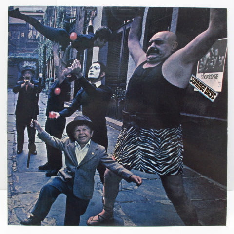 DOORS - Strange Days (UK 70's Re Stereo LP/CS)