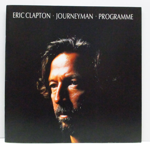ERIC CLAPTON (エリック・クラプトン)  - Eric Clapton Journeyman Programme (UK Orig.Tour Program Book)