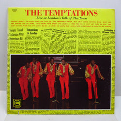 TEMPTATIONS - Live At London's Talk Of The Town (US Orig.Stereo)