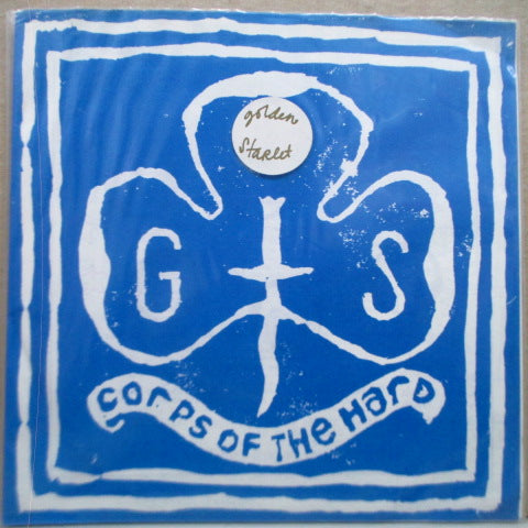 "GOLDEN STARLET - Corps Of The Hard EP (UK Orig.7"")"