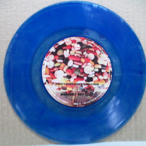 "MERCURY REV - Something For Joey (UK Ltd.Blue Vinyl 7"")"