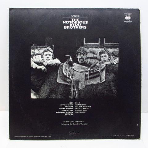 BYRDS - Notorious Byrd Brothers (UK Orig.MONO/CS)
