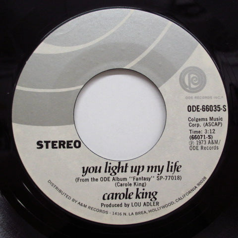 CAROLE KING - You Light Up My Life (US:Orig.+PS!)