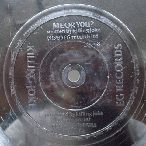 "KILLING JOKE - Me Or You? (UK Ltd.2 x 7"")"