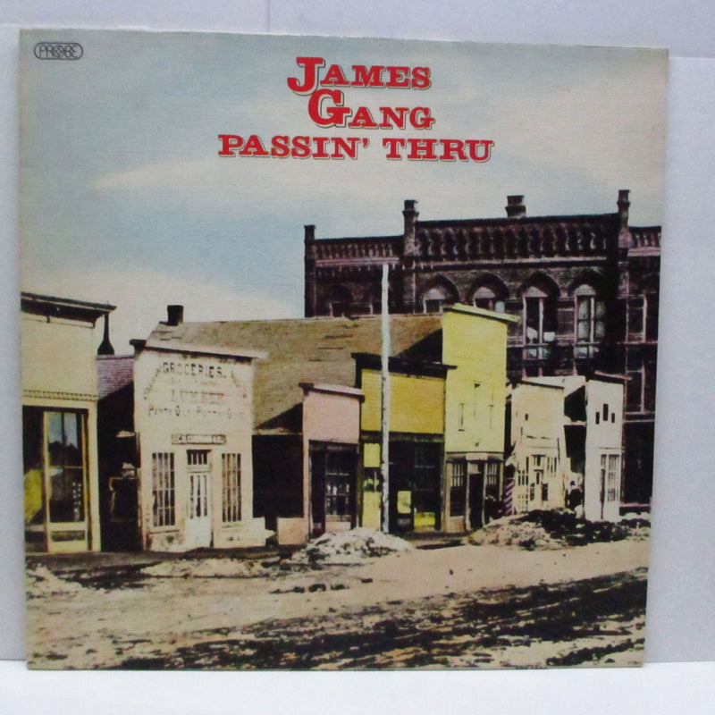 JAMES GANG - Passin' Thru (UK Orig.LP/Texture CVR)