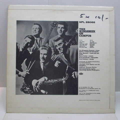 KINGSMEN - On Campus (UK Orig.Mono)
