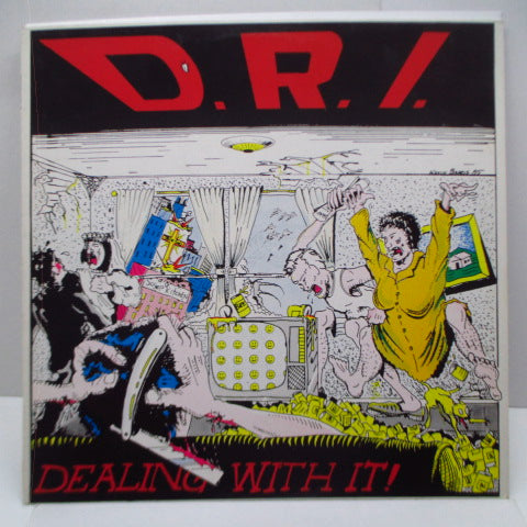 D.R.I. - Dealing With It! (Dutch Reissue LP)