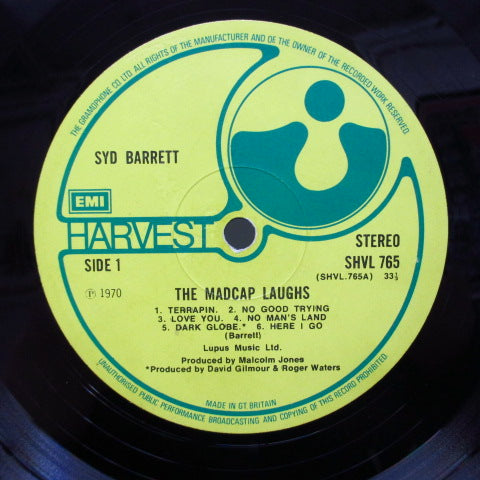 SYD BARRETT - The Madcap Laughs (UK '70 2nd Press/CGS)