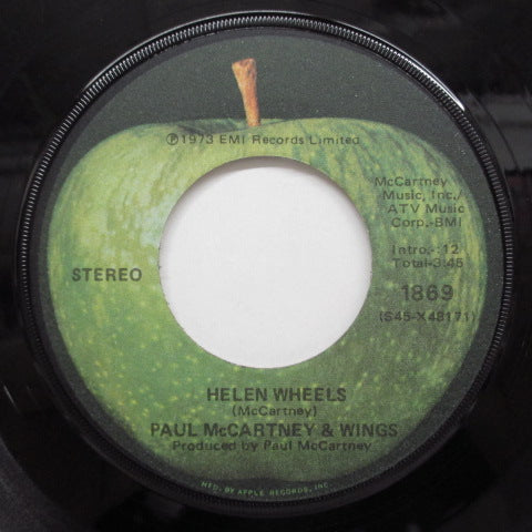 PAUL McCARTNEY & WINGS - Helen Wheels (US:Orig+CS)