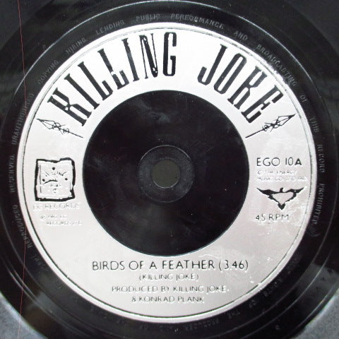 "KILLING JOKE - Birds Of A Feather (UK Orig.7"")"