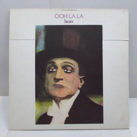 FACES - Ooh La La (UK Orig.LP+US Sleeve+UK Poster)
