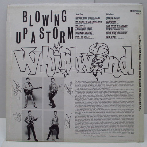 WHIRLWIND - Blowing Up A Storm (UK Orig.LP)