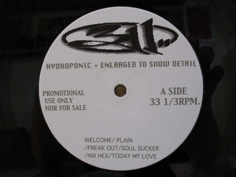 311 - Hydroponic + Enlarged To Show Detail (Japan Unofficial Promo.LP)