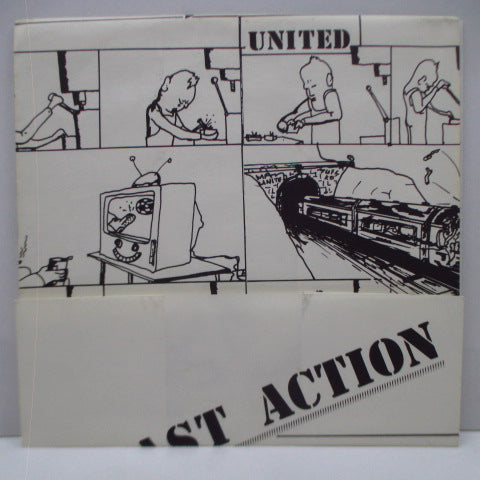 "FAST ACTION - United (UK Orig.7""+Poster CVR)"