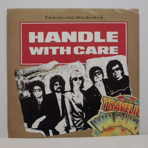 "TRAVELING WILBURYS - Handle With Care (US Orig.7""+PS)"