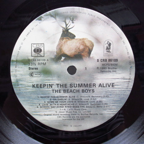 BEACH BOYS - Keepin' The Summer Alive (UK Orig.LP)