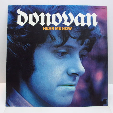 DONOVAN (ドノヴァン)  - Hear Me Now (US Orig.LP)