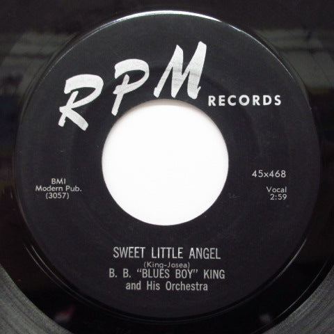 B.B.KING - Bad Luck / Sweet Little Angel