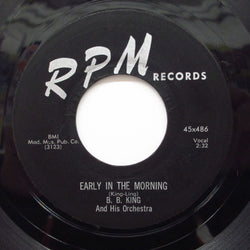 B.B.KING - Early In The Morning / You Don't Know