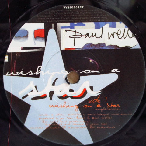 "PAUL WELLER - Wishing On A Star +2 (UK Ltd.7""/Mispress)"