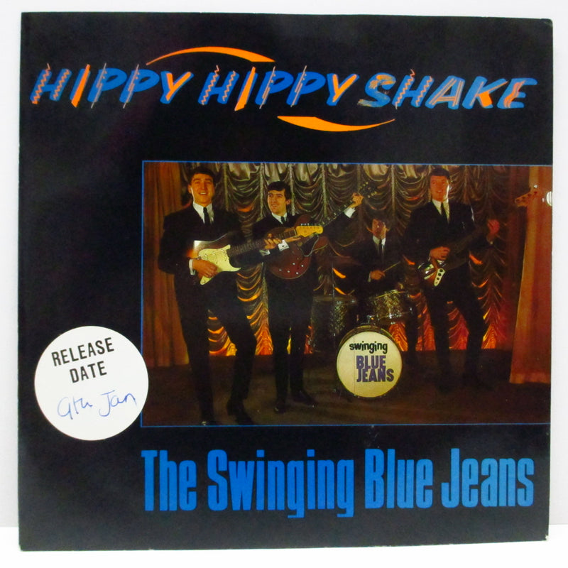 "SWINGING BLUE JEANS (スウィンギン・ブルージーンズ)  - Hippy Hippy Shake (UK '89 Re 7""+Promo Stickered PS)"