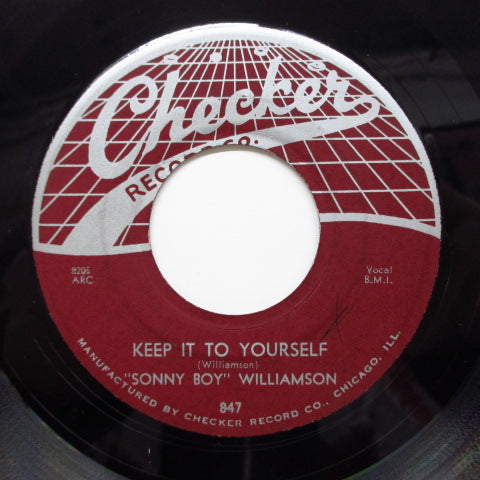 SONNY BOY WILLIAMSON - Keep It To Yourself (Orig)