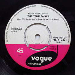 TEMPLEAIRES - What Will Heaven Have In Store For Me (UK Orig)
