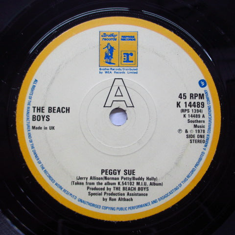 BEACH BOYS - Peggy Sue (UK Orig.)