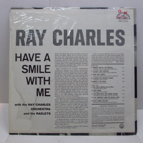 RAY CHARLES - Have A Smile With Me (US Orig.Mono LP)